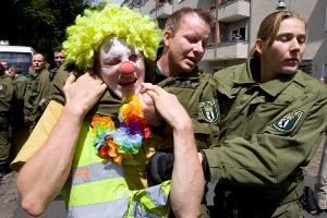 Hey, stop clowning around!