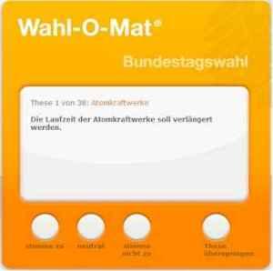Wahl-O-Mat matters.