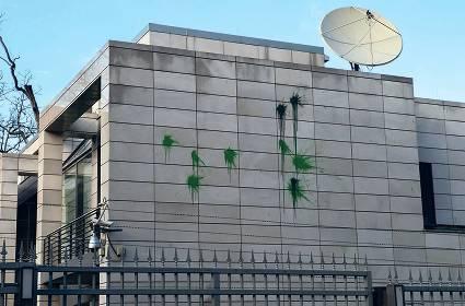 Uebergriff auf Iranische Botschaft in Berlin