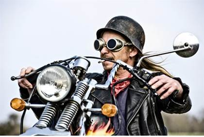 German Biker